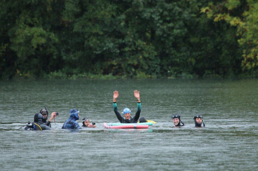 Geschafft! André Grabs 135m dnf im See