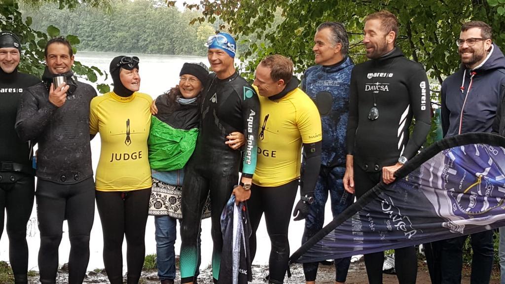 Rekord-Team dnf im See 2020
